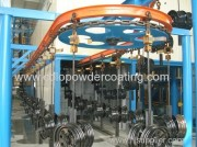 Motorcycle Accessories Powder Coating Line
