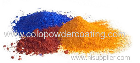 history of powder coating