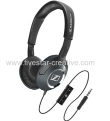 Sennheiser HD218i On-Ear Stereo Headsets with Mic/Remote black