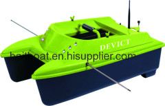 RC bait boat for fishing on lake river and in the sea