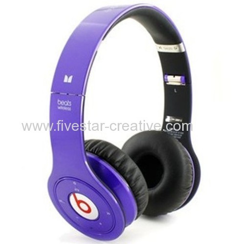 Monster Power Beats by Dr.Dre Wireless Bluetooth Enabled Headphones Purple