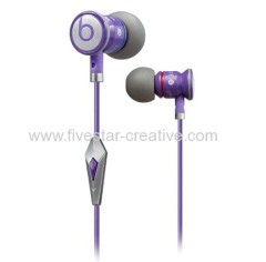 Beats by Dr.Dre High Performance Professional Earphones JustBeats iBeats Justin Bieber In-Ear Purple With ControlTalk