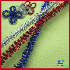 Excellent glitter chenille stems