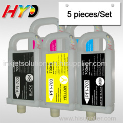 PFI-703 refillable ink cartridges for Canon iPF810 iPF815 iPF820 iPF825 ink cartridges with chips