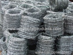 high standard galvanized barbed wire