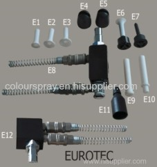 Eurotec powder pump Venturi parts