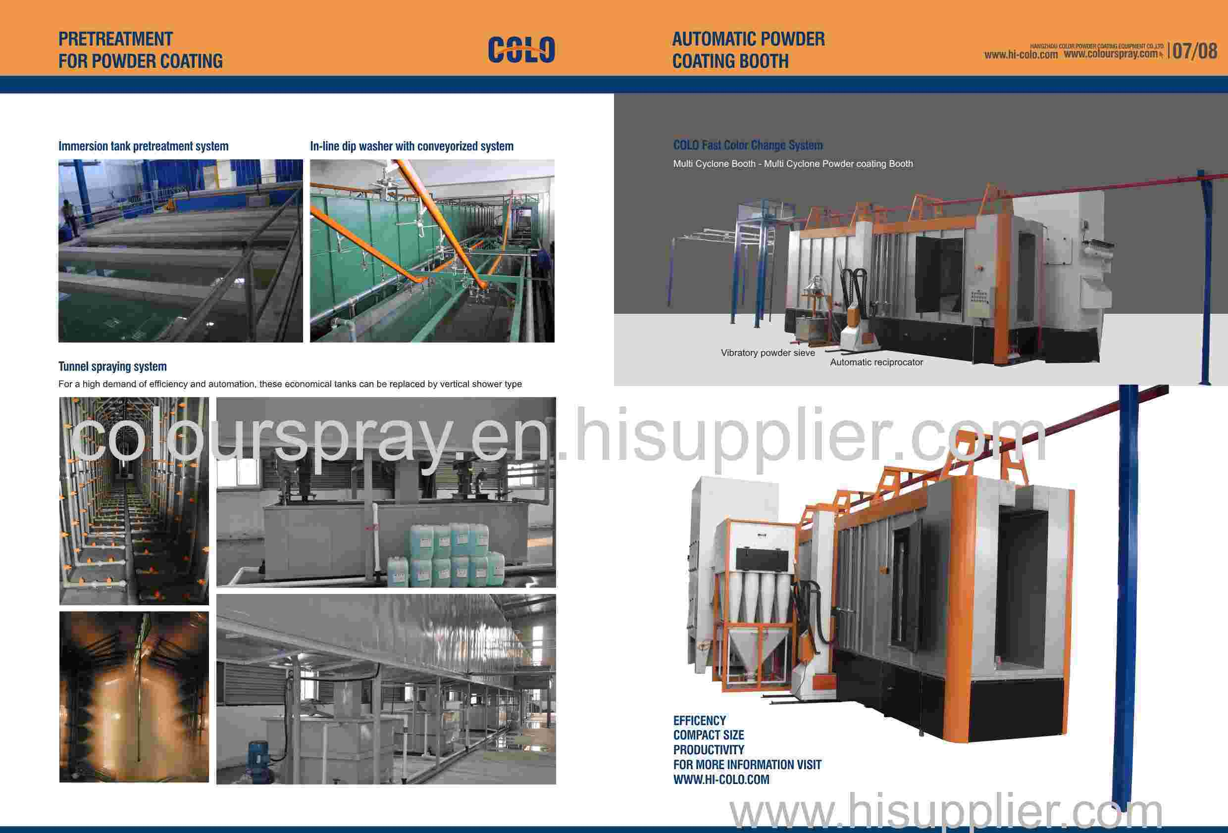 cyclone powder booth system catalogue