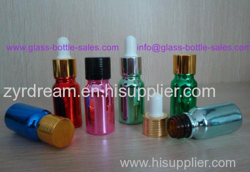 Electroplating Essential Oil Glass Bottles