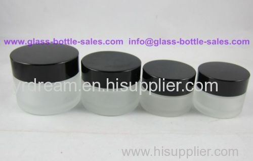 20g Frost Glass Cosmetic Jar With Lid