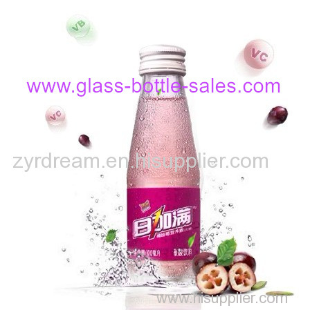 100ml Beverage Glass Bottle With Cap