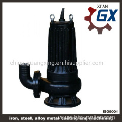 WQK good cutting performance sewage pump