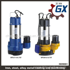 Top Quality Submersible Sewage Pump SPS37-4-0.75(WQ)
