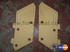 Komatsu PC200 bucket side cutter 205-70-74180 205-70-74190