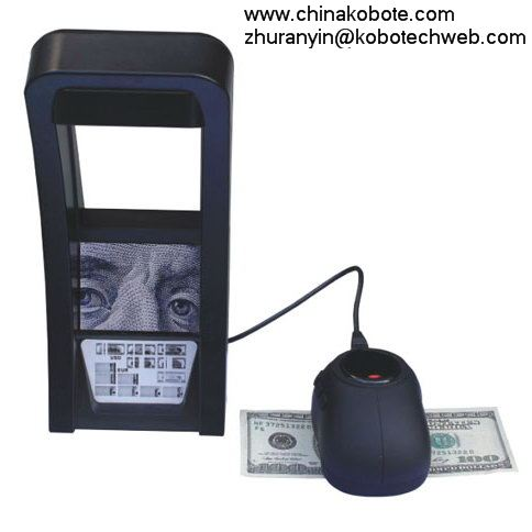 Kobotech KB-50 Documents IR Detector Money Note Bill Cash Currency Image Fake Counterfeit Detection