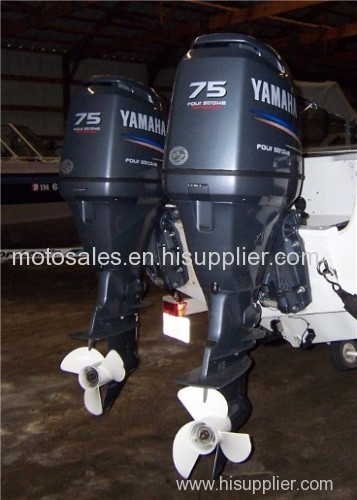 Used Yamaha 50 HP 50hp 4 Stroke Outboard Motor Engine