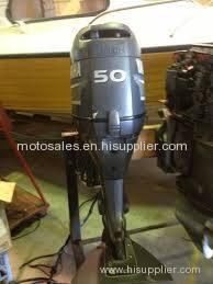 Used Yamaha 50 HP 50hp 4 Stroke Outboard Motor Engine