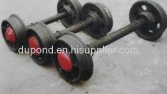 Right wheels/fixed coal mining wheel sets from factory