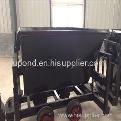 600mm Coal mining bucket-tipping car/KFU dump-bucket tramcar