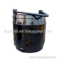 Hoist bucket for mine winch/coal mine bucket