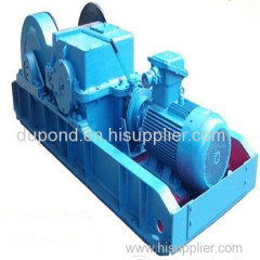 Electric prop-pulling winch/mining prop-pulling winch