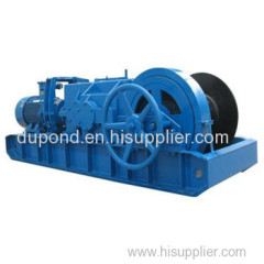 JSDB-13 electric two-speed winch/ electric winch from factory