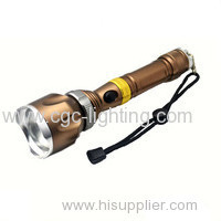 Factory wholesale customized good quality cheap military led rechargeable flashlight CGC-D13
