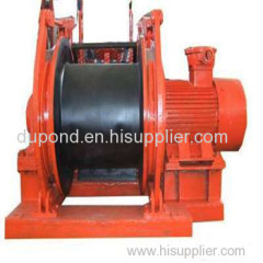 JD series dispatching winch for mininng/coal mining dispatching winch