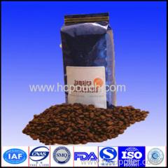 roasted coffee bean package