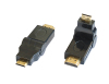 HDMI Adaptor Type A Male to Type C Male 180 degree