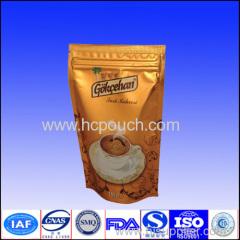 250g zip lock coffee/coffee bean aluminum foil bag
