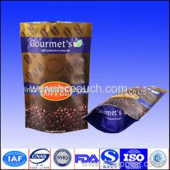 100g zip lock coffee/coffee bean aluminum foil bag