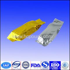 printing colored aluminum foil vacuum packing tea pouches