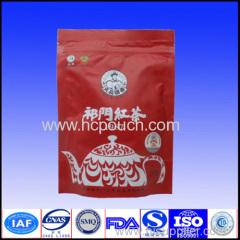 resealable aluminum foil packing tea bags