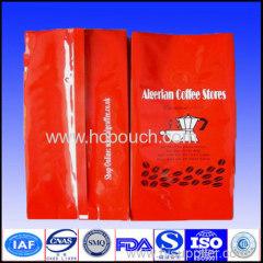 aluminum foil side gusset tea bag