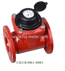 removable dry type hot woltman water meter