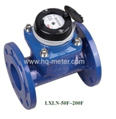 Irrigation dry type iron water meter