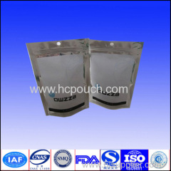 stand up laminated aluminum foil pouches