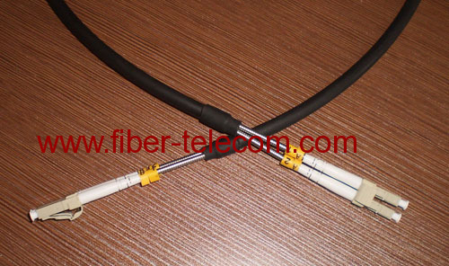 Optical Cable Assembly DLC-DLC Multi-mode GYFJH-2A1a (LSZH) 7.0mm 2 Cores 0.03m/0.34m 2mm Outdoor Branch Cable