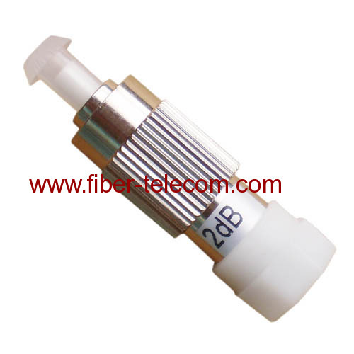 FC Male to Female Built-out Attenuator Metal housing