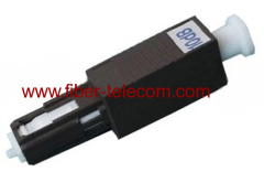 MU plastic optical fiber attenuator
