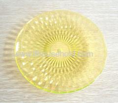 plastic fruit plate dia 20cm