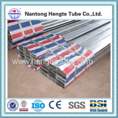 Hot dip galvanized rectangle section steel pipe
