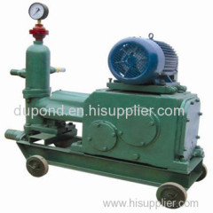 Mining Double fluid piston grouting pump for sale