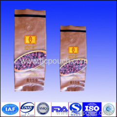 laminated aluminum foil bags with valve