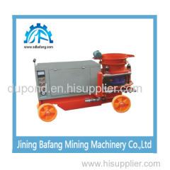 Mining wet spray machine
