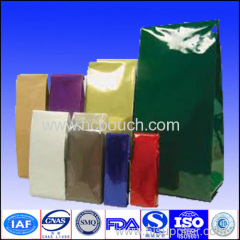 Custom colored printing aluminum foil pouch