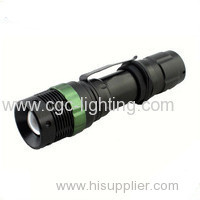 CGC-128 Factory price promotion high quality Rechargeable CREE LED Flashlight