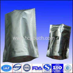 aluminum foil coffee package with valve