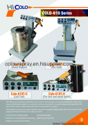 colo-610 powder coating machine catalogue