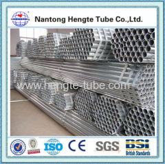 hot dip galvanized steel pipe GB T3091 2001